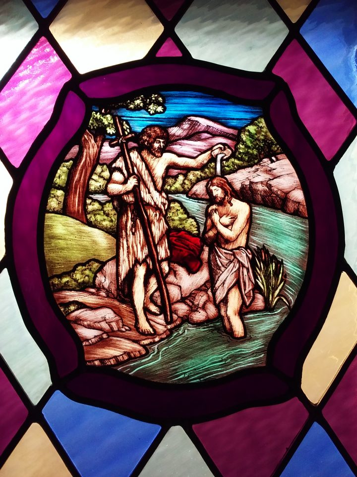 Stained Glass – Jesus' Baptism