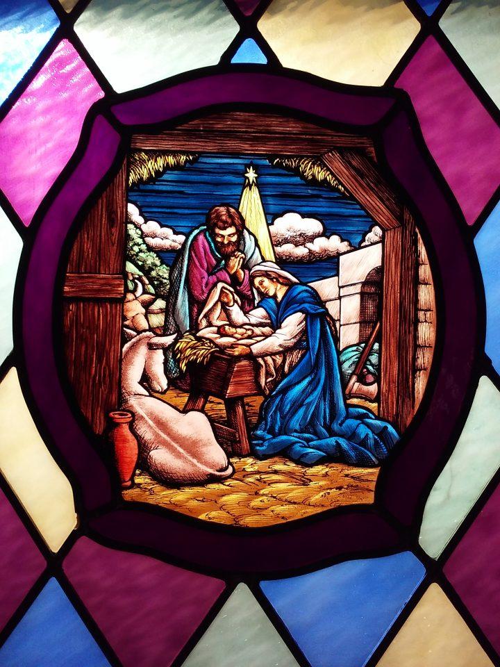 Stained Glass – Jesus' Birth