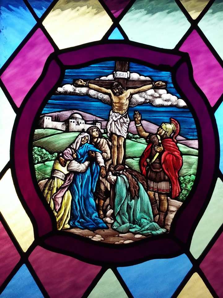 Stained Glass – Jesus' Crucifixion